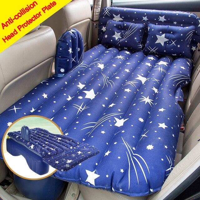Free Shipping Heavy Duty Car Travel Inflatable Mattress Car