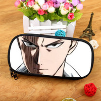 Anime ONE PUNCH-MAN Large-capacity fashion zipper cosmetic bag pencil purse student birthday gift Christmas gift       1
