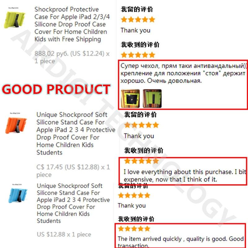 Funda protectora de silicona a prueba de golpes para Apple iPad 2 3 4 - Accesorios para tablets - foto 5