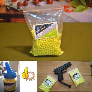 Image 5 - 1000 pz/lotto Airsoft Strikeball BB Balls Paintball fucile da caccia Strike pistola tattica munizioni tiro proiettile fionda palla