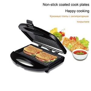 Image 4 - חשמלי הוופלים יצרנית ברזל כריך מכונה מחבת טפלון בועת ביצת עוגת תנור ביתי ארוחת בוקר ופל מכונת Sonifer