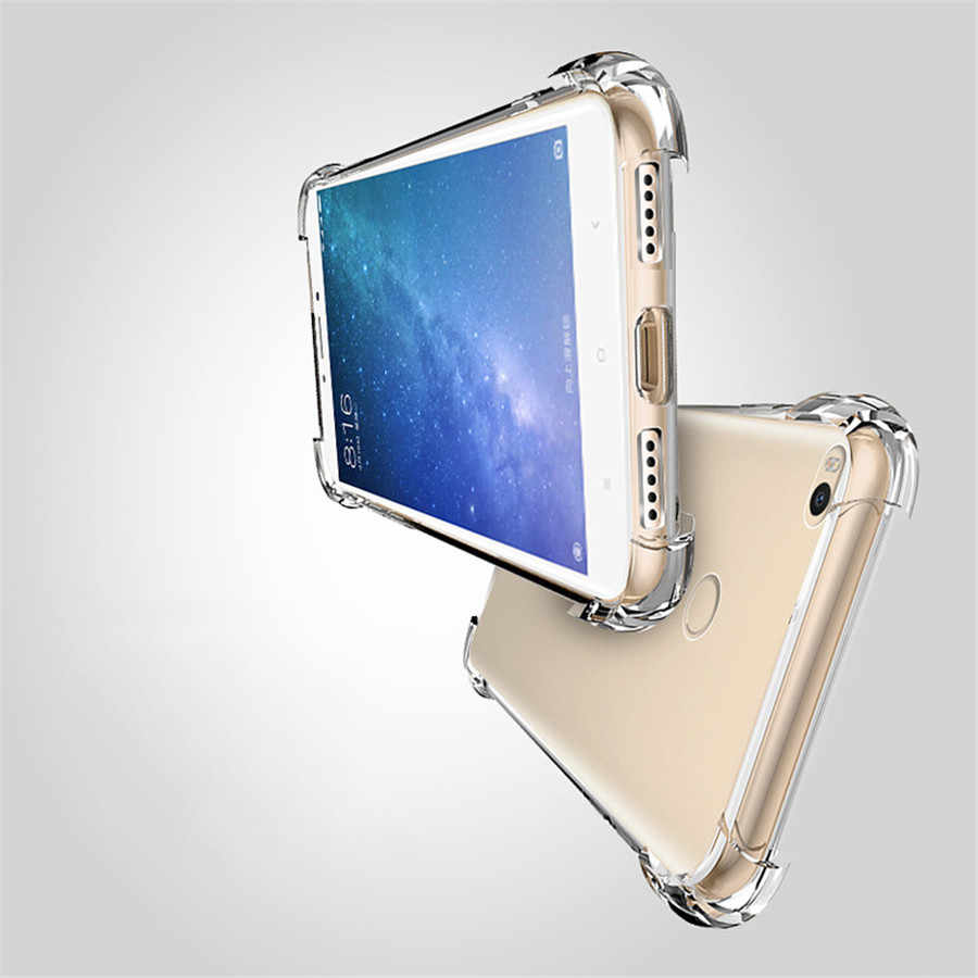 Super Anti-knock TPU Phone Protective for Xiaomi 8 SE F1 A2 Lite A1 5s Plus 5C RedMi 6 Pro 5 S2 6A 5A 4A 4X Note 3 4 Y1 Y2 Case