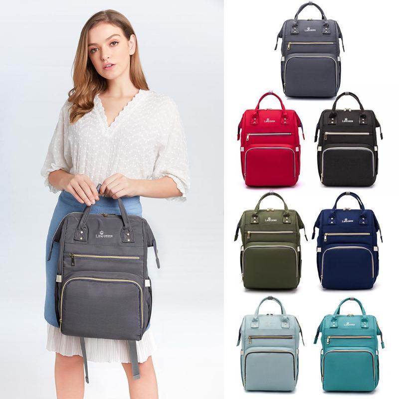 LEQUEEN Nappy Backpack Nursing Bag Multi-function Maternity Mummy Large Capacity Waterproof Outdoor Travel Diaper Bags Handbags