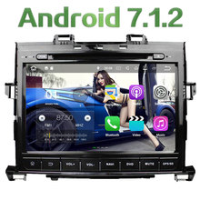 "9"" Quad Core Android 7.1 2GB RAM 4G Audio Multimedia Car DVD Player Stereo Radio GPS Navi Screen for toyota Alphard 2007-2013"