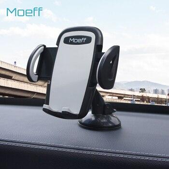 Moeff Evrensel Smartphone Araç telefon tutucu Telefonu için Standı Araba Hava Firar Mobil Destek cep telefonu Dağı Iphone 8 Için Artı