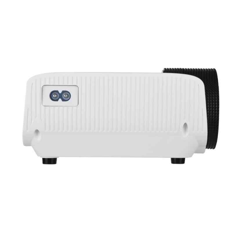 Проектор 1080 P домашний СВЕТОДИОДНЫЙ Проектор коррекция 30-150in проектор Full HD-EU Plug