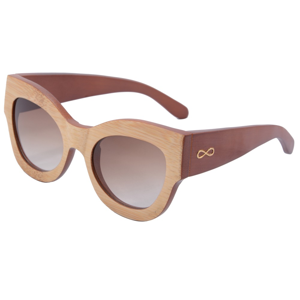 hot sale cat eye women sunglasses so real bamboo wood sunglasses lunette de soleil 5001 in. Black Bedroom Furniture Sets. Home Design Ideas