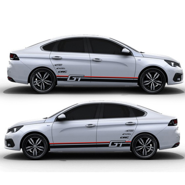 Taiyao Car Styling Sport Car Sticker Car Accessories For Peugeot 308