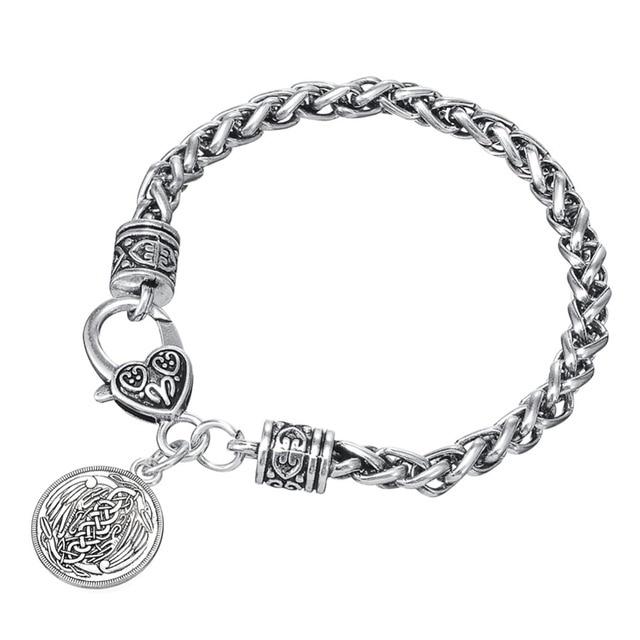 Lemegeton Herons Irish Pendant Necklace Symbol Of Harmony And Peace