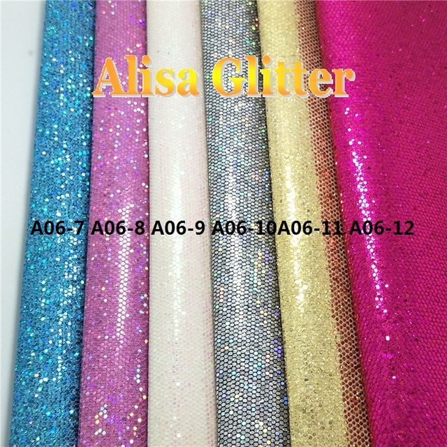 6 STKS 21X29 cm A4 SZI Alisa Glitter Laser Sterren Glitter stof Pu leer  Stof Synthetisch ce35efec5ade