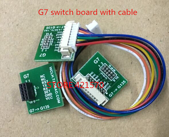 US $2 4  The G7 switch board with cable for laser sensor PMS7003 PM2 5  particles-in Sensors from Electronic Components & Supplies on  Aliexpress com  