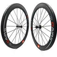 Estrada de carbono rodas 700c tubular 60mm 25mm TPI wheel1490g R36 cerâmica puxar Em Linha Reta da roda rodas de bicicleta de estrada bicicleta wheelse carbono Roda de bicicleta     -