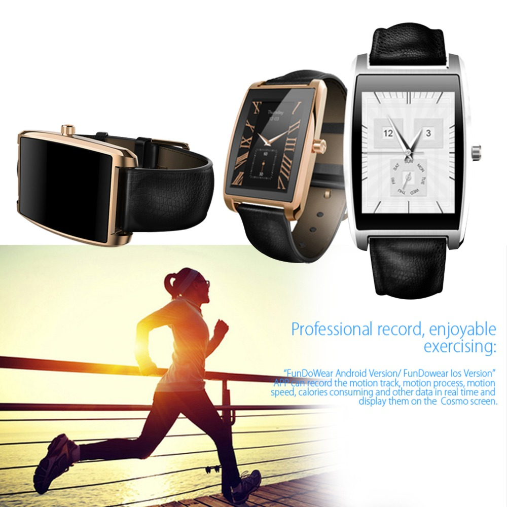 ФОТО 2016 NEW for Zeblaze COSMO 1.61 inch for IPS IP65 Bluetooth 4.0 Smart Watch Heart Rate Monitor In stock!