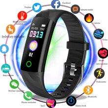 2019 LIGE Smart Bracelet Men Clock Heart Rate Monitor Blood Pressure Activity Fitness Tracker Wristband Ladies Wrist watch