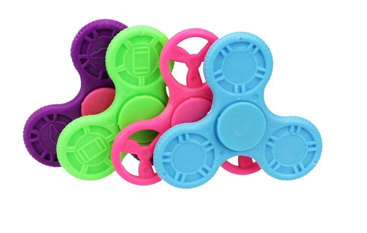 Finger Tip Finger Spinner Tip Fingertip Spiral Kid Children Adult Funny Decompression Toy