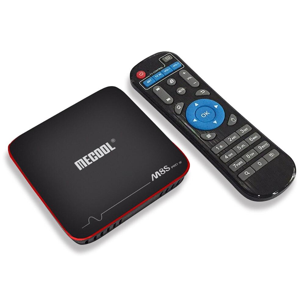 цена на Mecool M8S PRO W Smart TV Box WiFi 4K Set Top Box S905W 1GB RAM 8GB ROM Android 7.1 TV Box