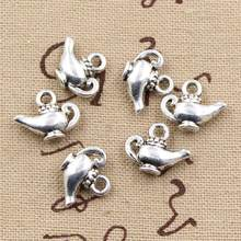 25pcs Charms aladdin magic lamp genie 15x12mm handmade Craft pendant making fit,Vintage Tibetan Silver,DIY for bracelet necklace(China)