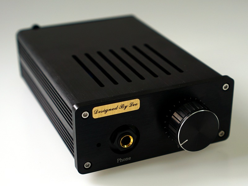 LAmini Headphone Amplifier Class A Pure DC BD139 BD140 HiFi Headphone Amp Finished