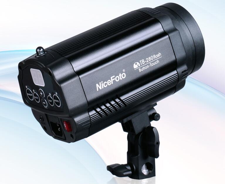 NiceFoto TB-280 small studio flash ,flash lamp photography light For studio ashanks small photography studio kit