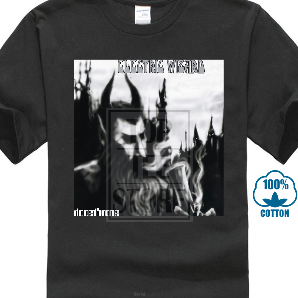 Electric Wizard New Black T-Shirt Men/'s Tshirt Tee