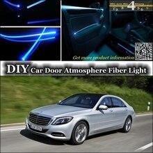 Интерьер окружающего света настройки атмосферу волоконно-оптический Ленточные огни для Mercedes Benz S MB W126 W140 W220 W221 W222 C217 для ремонта