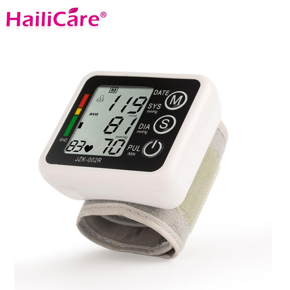 Heim-gesundheitsmonitor Gesundheits Automatische Handgelenk Blutdruck Monitor Meter Manschette Blutdruck Messung Gesundheit Monitor Blutdruckmessgerät
