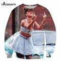 2017 New Fashion Women/Men Funny Print Rihanna 3D Hoodies FINGER Pullovers Sweats Ancient Galaxy Sweatshirts  Top
