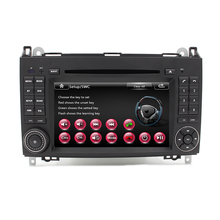Free Shipping Car DVD Player Autoradio GPS Navigation for Mercedes A Class B Class with Ipod Bluetooth RDS Radio AM FM USB SD