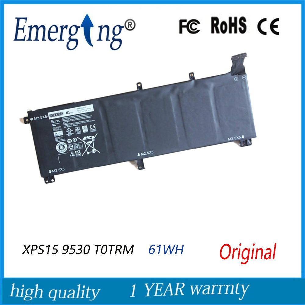 11.1v 61WH New Original Laptop Battery for Dell M3800 XPS15 9530 9535 T0TRM 245RR