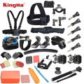 Gopro hero 5 Accessories Set Helmet Harness Chest Belt Head Mount Strap Monopod Go pro Hero 4 3 xiaomi yi 2 4K SJCAM M10 SJ4000