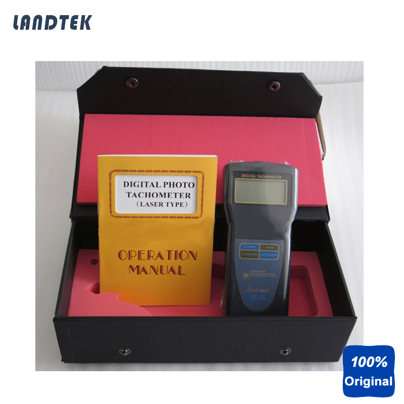 Portable Tachometer Digital Tacho Meter DT-2857 dt 2856 photo touch type tachometer dt2856