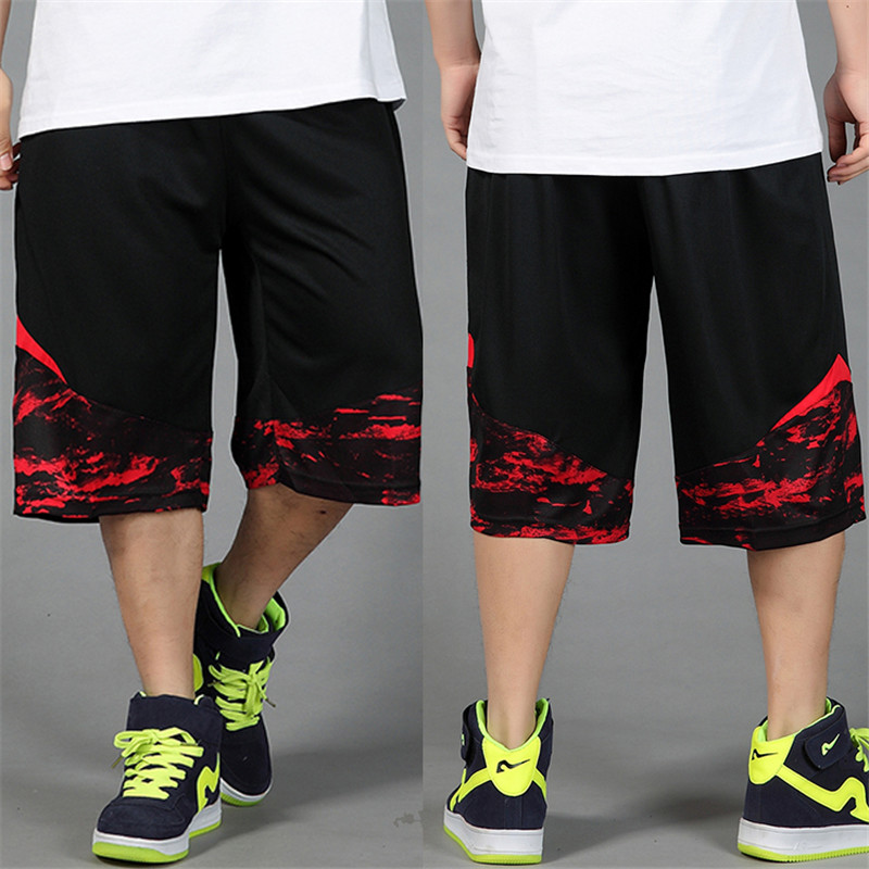 Pants Capris Thin Male XL Men's Straight Plus-Size Summer Casual New-Fashion of Hiphop
