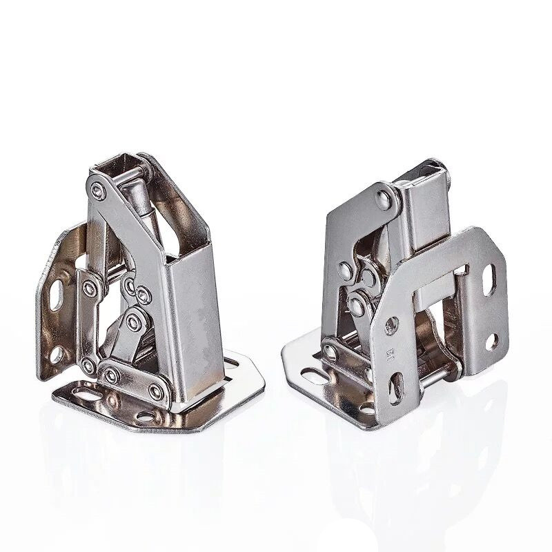 High quality 3 inch / 4 inch cabinet door hinge hinge cold - rolled steel spring hinge hardware doors and windows accessories