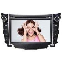 7 HD 4 Core Android 6.0 Car DVD GPS Radio Video Stereo Navigation Player for Hyundai I30 2012 2013 2014 2015 DVR TPMS OBD