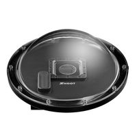 Shoot 6 Inch Dome Port With Waterproof Case For GoPro Hero 3 4