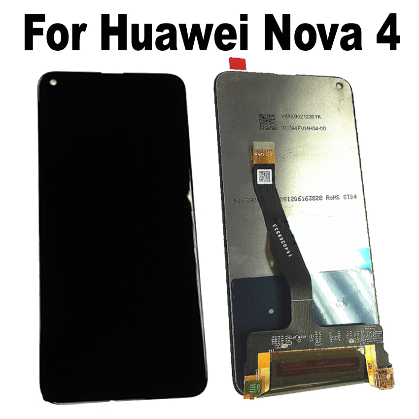 Original Best Tested Well LCD Display Touch Screen Digitizer Assembly For Huawei Nova 4 VCE-AL00 VCE-TL00 sensor Pantalla PartsOriginal Best Tested Well LCD Display Touch Screen Digitizer Assembly For Huawei Nova 4 VCE-AL00 VCE-TL00 sensor Pantalla Parts