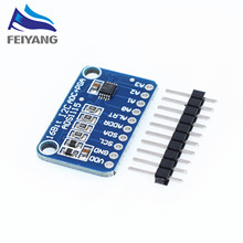 10pcs 16 Bit I2C ADS1115 ADS1015 Module ADC 4 channel with Pro Gain Amplifier 2.0V to 5.5V for Arduino RPi