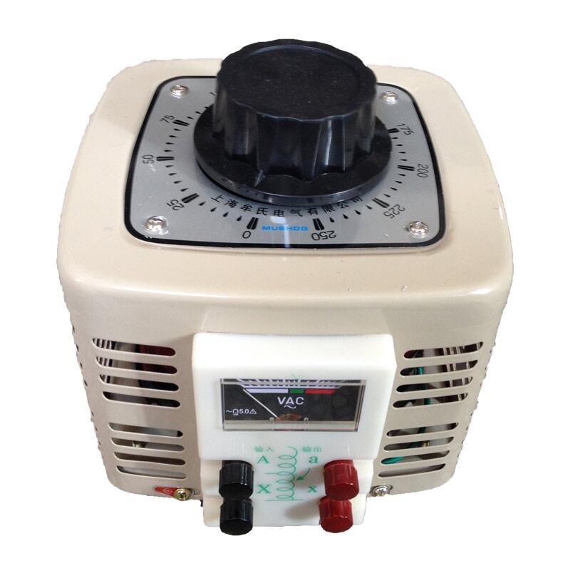 купить 2KVA Voltage regulator household single phase variac 0-250v voltage converter power converter voltage transformer 220V по цене 11545.64 рублей