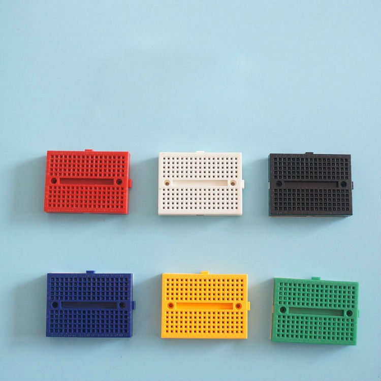 Mini Breadboard 170 Points CLEAR Free Shipping USA Seller