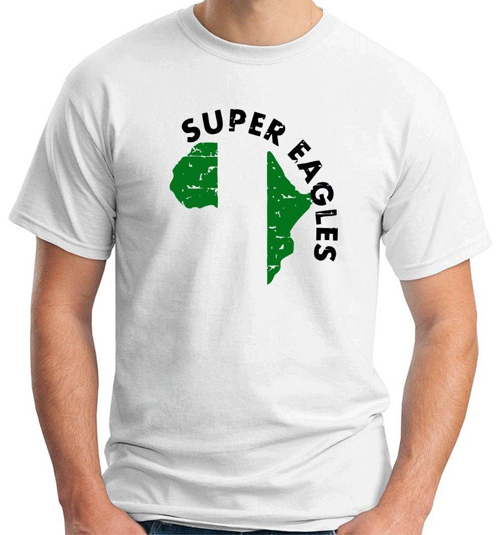 Shirt design in nigeria - 2017 New Fashion Wc0133 Calcio Mondiali Nigeria Design Top Quality Tee Shirt Short Sleeve Tee