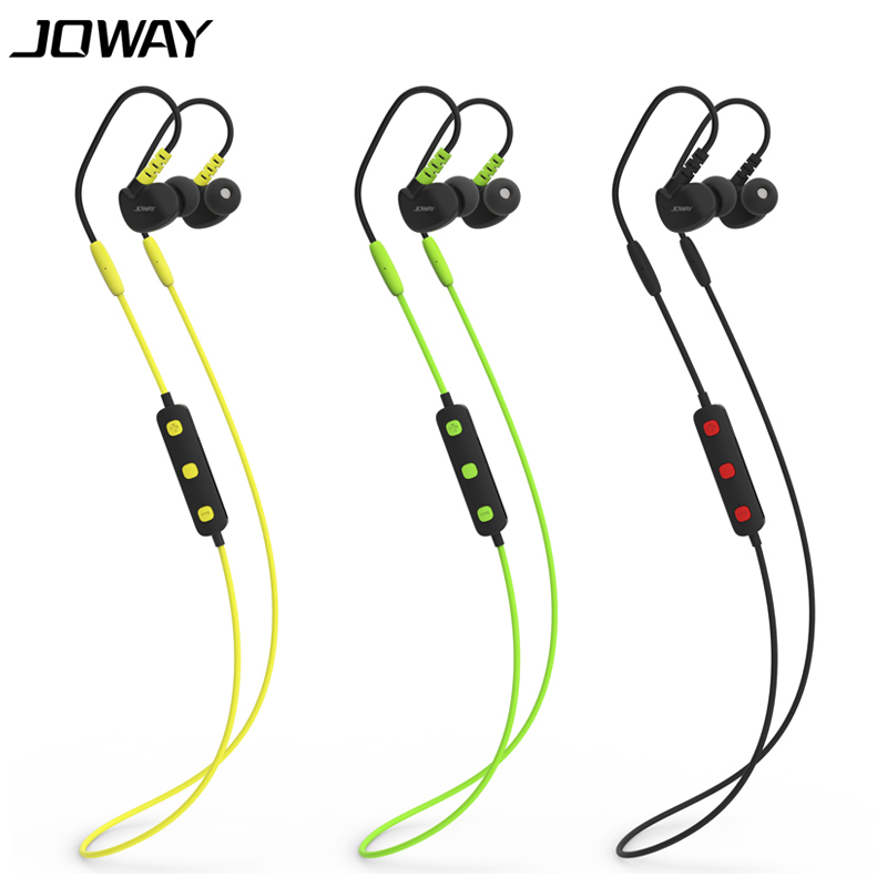 New Arrival Joway H13 Bluetooth Headset Wireless Sports Running Earphone Smart Headphone with Mic for iphone Samsung In Stock