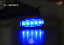Bike light 5pcs LED Waterproof Bike Bicycle Cycling Front Rear Tail Helmet Lights Safety Warning Lamp Cycling Safety SOS Light