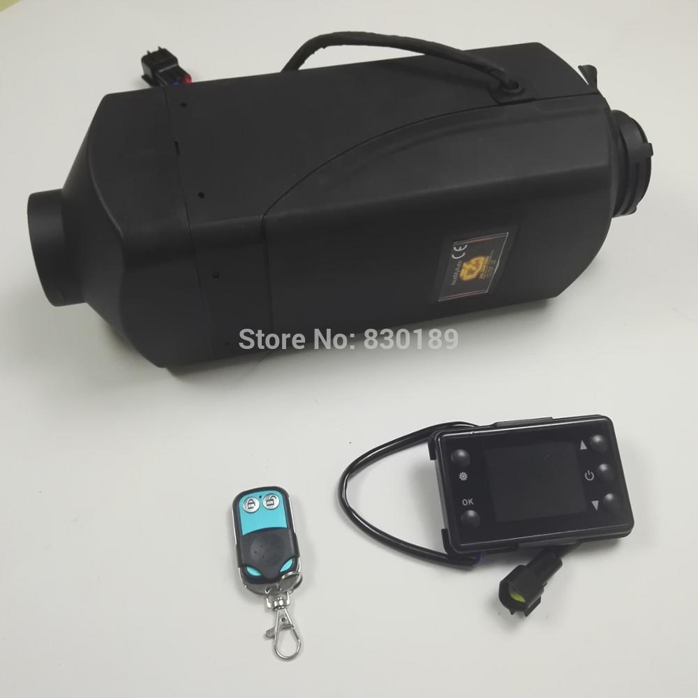 Remote control+ 5KW 12V webasto air parking heater for Boat Ship car van RV Camper -replace Eberspacher D4,Webasto diesel heater(China)