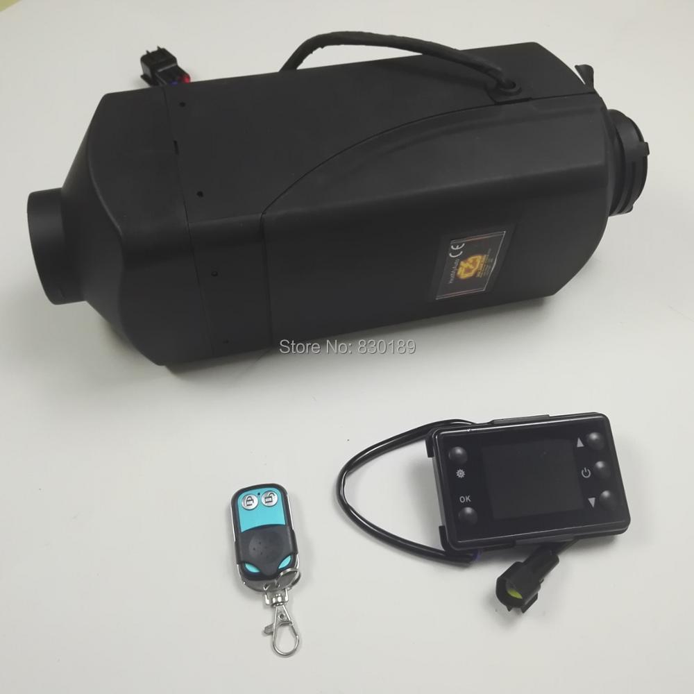 Télécommande + 5KW 12 v webasto réchauffeur d'air de stationnement pour Bateau Bateau de voiture van RV Camper-remplacer Eberspacher d4, webasto diesel chauffe-