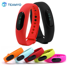 Teamyo BL05 Bluetooth Smart Браслет Шагомер калорий Sleep Monitor Водонепроницаемый анти-потерянный Спорт браслет для iOS и Android