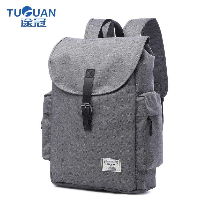 Dynamisch Tuguan Marke Einfache Männer Mode Schule Rucksäcke Koreanischen Stil Unisex Frauen 15,6 laptop Tasche Für Mädchen Und Teenager Jungen Daypacks Reisen Rucksäcke