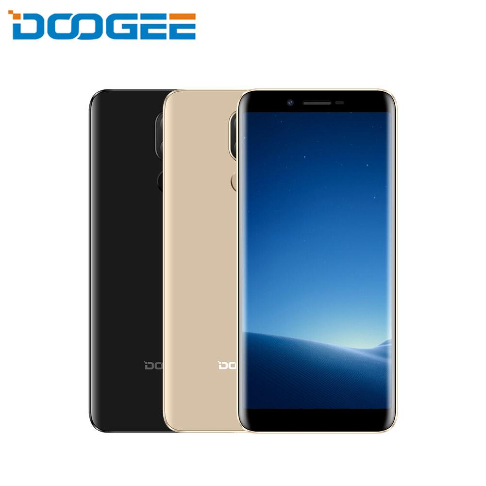DOOGEE X60L 2GB 16GB 5.5 HD 18:9 Cell Phone Android 7.0 MTK6737 Quad Core 13MP Dual Rear Cameras 3300mAh 4G LTE Smart Phone