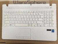 Nueva carcasa superior con reposamanos y teclado para Samsung NP270E5G NP270E5J NP270E5U NP270E5K BA75-04807L Disposición de EE. UU.