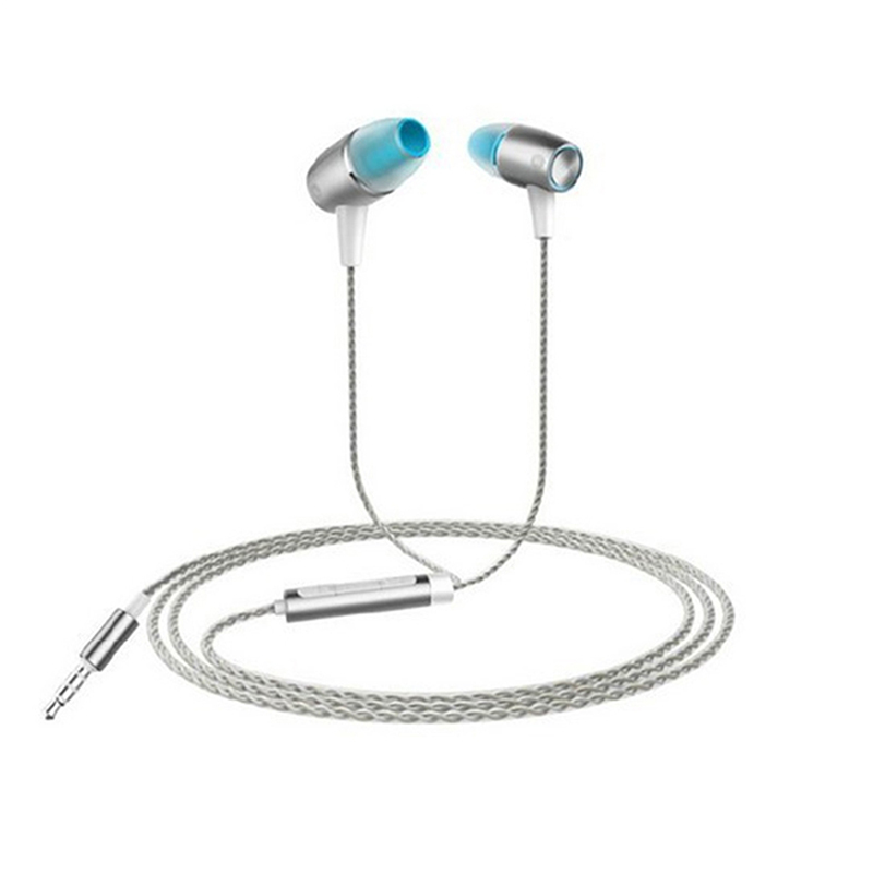 New 1PCS Wired Stereo 3.5mm Jack Engine Earphones For