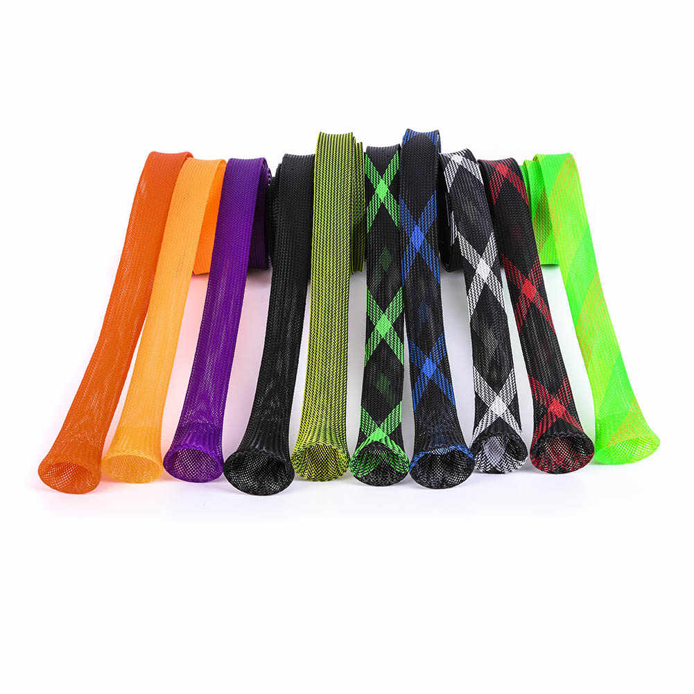 Fishing Rod Pole Protector Bag Sleeve Cover Tackle Pouch Mesh Spinning Fish Tool  BB55
